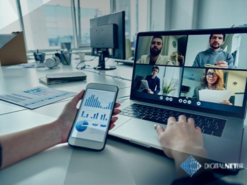 Como otimizar o uso de plataformas de videoconferência e comunicação online?