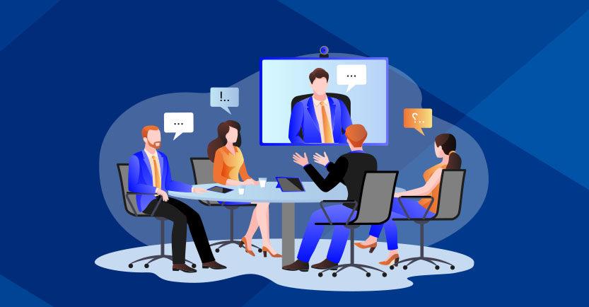 A necessidade de modernizar antigas salas de reunião com a popularização do home office